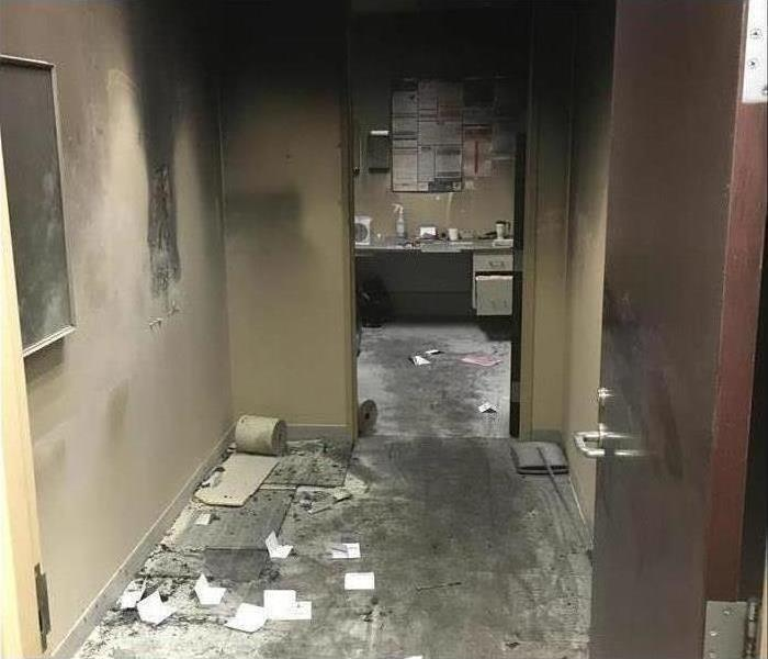 Commercial Smoke Damage